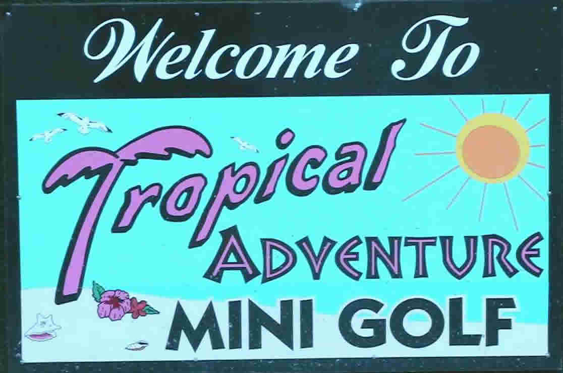 Tropical Adventure Mini Golf